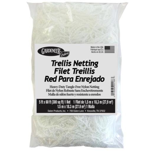 Gardeneer Trellis Netting Gardeneer Trellis Netting 5 ft x 60 ft w/ 7 in Holes (12/Cs)