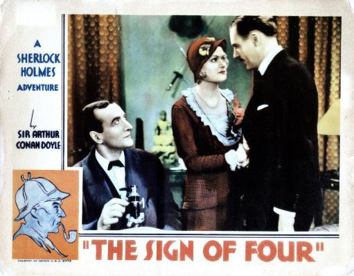 The Sign Of Four From Left Arthur Wontner Isla Bevan Ian Hunter 1932 Movie Poster Masterprint