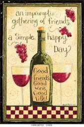 Wine Bottle Poster Print by Dan DiPaolo PDXDDPRC413ALARGE