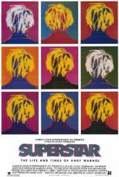 Superstar: The Life and Times of Andy Warhol Movie Poster Print (27 x 40) MOVAF0390