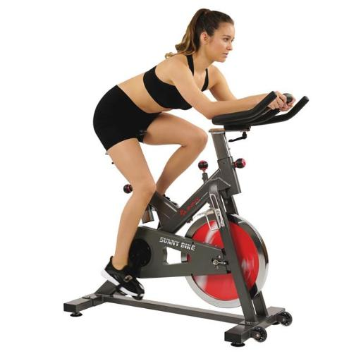 Sunny Health & Fitness SF-B1712 Belt Drive Indoor Cycling Bike