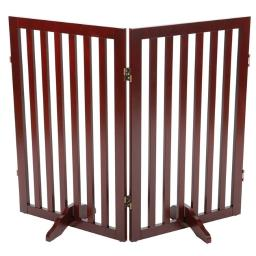 Trixie Pet Products 39459 Convertible Wooden Dog Gate Extension, Brown