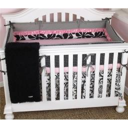 Cotton Tale TY7S Pink Crib Set 7 Piece Girly Collection