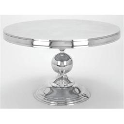 A nation 30780 Round Aluminum Cocktail Table