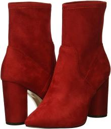 BCBGeneration Women's Ally Fashion Boot, Rich Red, 10 M US