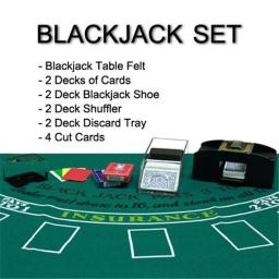 Bry Belly GSHU-001.GFEL-002.GBJ-001.002.Free-9 2.Free-7 2 2 Deck Blackjack Set