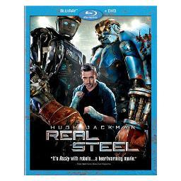 Real steel (blu-ray/dvd/2 disc/ws-2.35/eng-fr-sp sub) BR109012