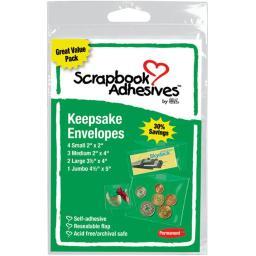3L Corp 1662-6 Keepsake Envelopes 10/Pkg