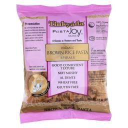 Tinkyada Brown Rice Pasta - Spiral - Case of 12 - 12 oz.