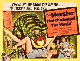 The Monster That Challenged The World Audrey Dalton Tim Holt 1958 Movie Poster Masterprint EVCMMDMOTHEC006H