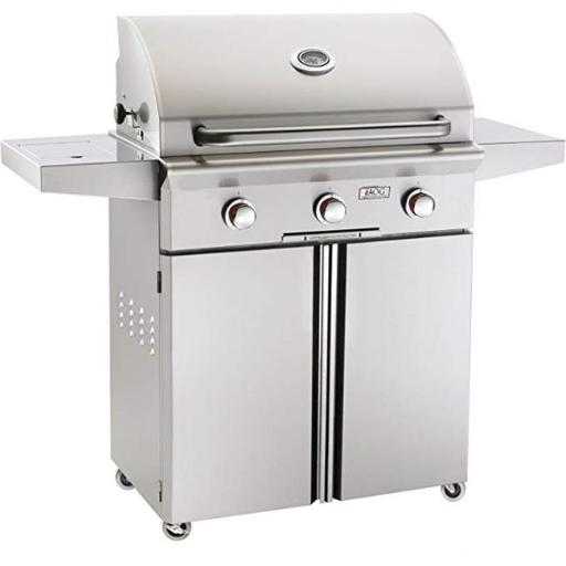 American Outdoor Grill 30NCT 30 in. Freestanding T Series Grill with Burner Rotisserie - NG