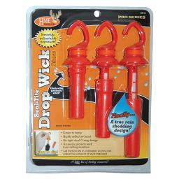 HME PRODUCTS DWO HME SCENT DISPENSER SEAL-TITE DROP WICK ORANGE 3/PK