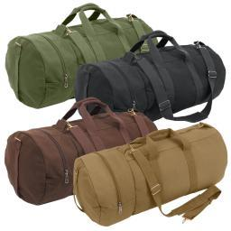 Rothco Canvas Double-Ender Sports Bag, Duffle Bag, w/Shoulder Strap