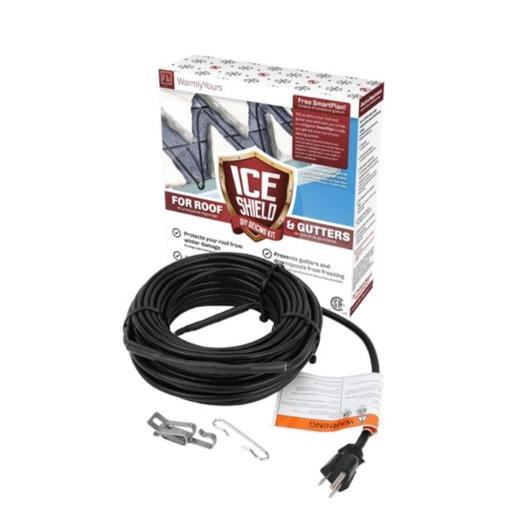WarmlyYours ETC120-5W-080-WY 80 ft. 5 watts Per Foot Roof Gutter Snow De-icing Cable