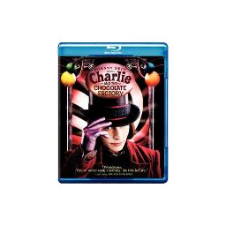 CHARLIE & THE CHOCOLATE FACTORY (BLU-RAY) 883929189731