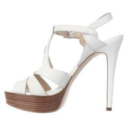 GUESS Womens Kymma Leather Open Toe Special Occasion Strappy Sandals