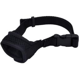 Coastal Pet Products 01360XSM 3 - 3.75 in. Best Fit Adjustable Comfort Dog Muzzle, Black
