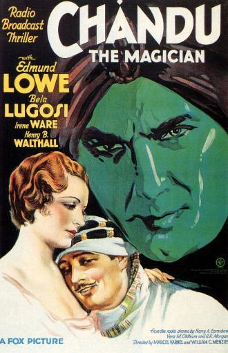Chandu The Magician Irene Ware Edmund Lowe Bela Lugosi 1932 20Th Century Fox Tm & Copyright / Courtesy: Everett Collection Movie Poster Masterprint CCN8EXZBSHYOA4XH