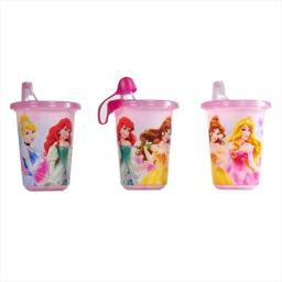 First Years Disney Princess Take & Toss Sippy Cup, 3 Pack