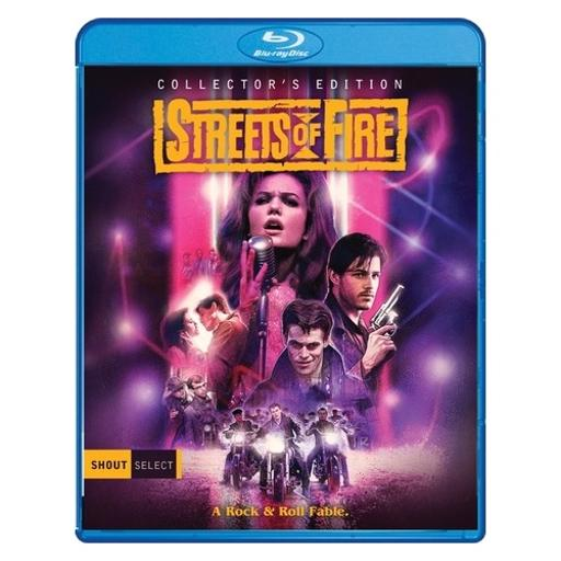 Streets of fire collectors edition (blu ray) (ws/1.78:1/2discs) PM7RUORDXRBH61LD