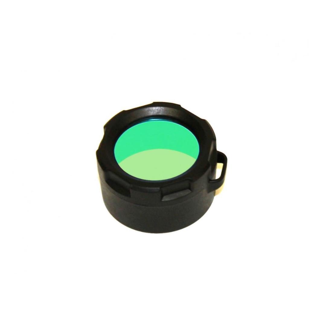 Powertac Green Flashlight Filter fits E5 and Cadet