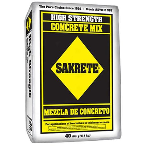 Sakrete 65201030 40 lbs. Concrete Mix
