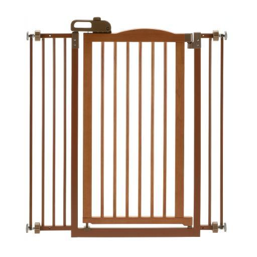 Richell 94930 Autumn Matte Richell Tall One-Touch Pressure Mounted Pet Gate Ii Autumn Matte 32.1 - 36.4 X 2 X 38.4