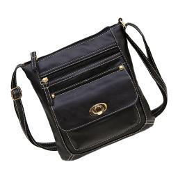 Crossbody Buckle Messenger Bag - 5 Styles