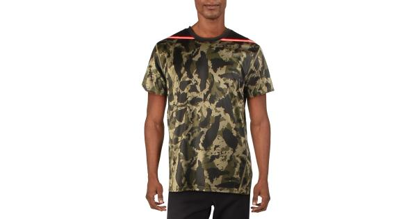 Puma Mens Camo Fitness T-Shirt