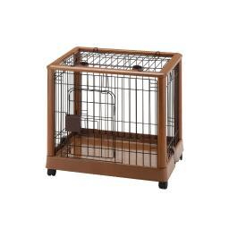Richell 94127 Autumn Matte Richell Mobile Pet Pen 640 Small Autumn Matte 25.2 X 18.1 X 22.4