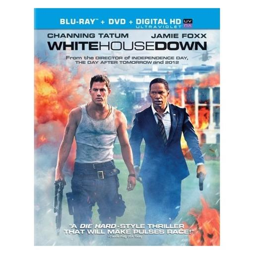 White house down (blu-ray/dvd combo/ws/ultraviolet/dol dig 5.1/sub/dub) N4UKH0WJKKJDNKFF