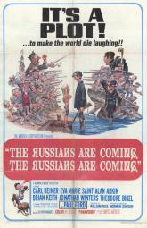 The Russians Are Coming, the Russians Are Coming Movie Poster (11 x 17) MOVAF9094