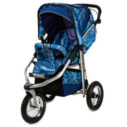 Baby Bling Design Company BBLB333P  Metamorphosis All Terrain Jogging Stroller in Painted Lady Blue