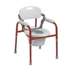 RedMoby Wenzelite-PC-1000-R Pinniped Pediatric Commode - Red