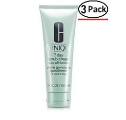 Clinique By Clinique 7 Day Scrub Cream Rinse Off Formula--100Ml/3.4Oz For Women (Package Of 3)