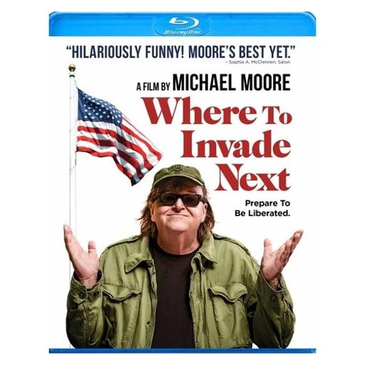 Where to invade next (blu-ray) UFZ3DL22PJEU9WMM