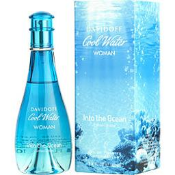 COOL WATER INTO THE OCEAN by Davidoff EDT SPRAY 3.4 OZ (Package Of 4)