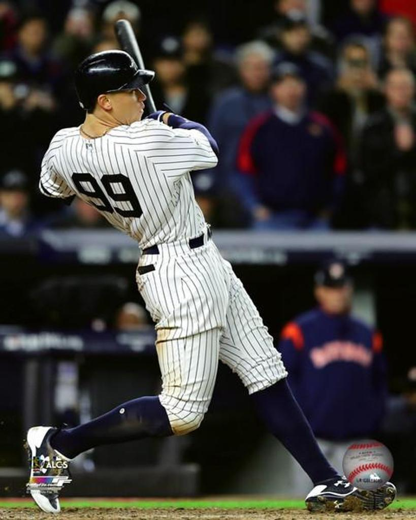Aaron Judge 3 run Home Run Game 3 of the 2017 American League Championship Series Photo Print