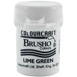 Brusho Crystal Colour 15g Lime Green