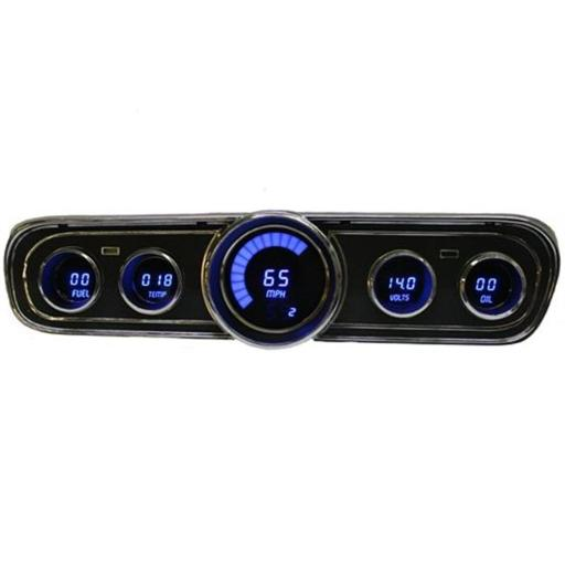 Intellitronx DP7001B LED Digital Replacement Gauge Panel for 1965-1966 Ford Mustang MMMZ17MP7XL1DCND