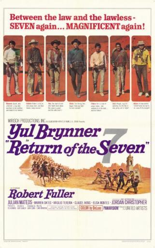 Return of the Magnificent Seven Movie Poster (11 x 17) SWCR7USYNTIBF3M6