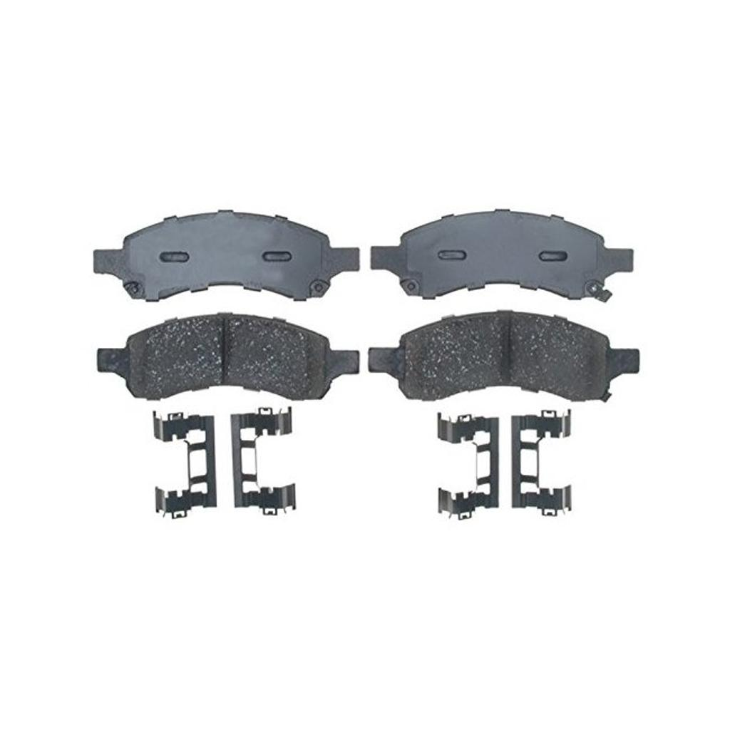 Ac delco acdelco 17d1169ach professional ceramic front disc brake pad set