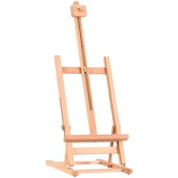 Adjustable Portable Wood Tabletop Easel H-Frame for Artist Painting Display