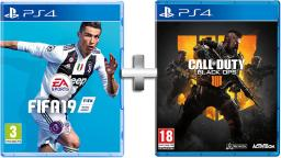 FIfa 19 and Call of Duty Black Ops 4 Video Game Bundle Ps4