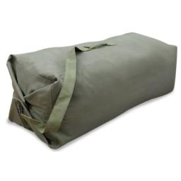 "Stansport 1200 Deluxe Duffel Bag with Shoulder Strap, 42"" X 12"" X 12"", Olive Green"