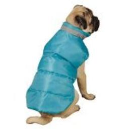 Casual Canine North Paw Vibrant Puffy Pet Vest, XX-Small, Lime Green