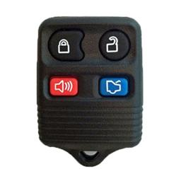 2002-2010 FORD EXPLORER 4 Button Remote Keyless Entry Key Fob with Quick and Easy Programming Instructions