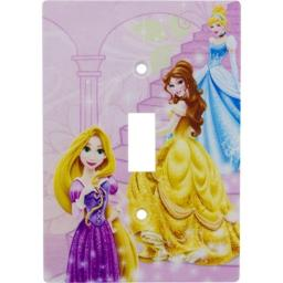 Disney Princess Decorative Single Toggle Wall Plate