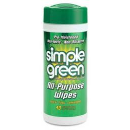 Simple Green 13312 All Purpose Wipes