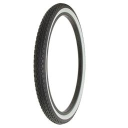 Alta Bicycle Tire Duro 26 x 2.125 Bike Thread Diamond Drizzle Style (Black/White)